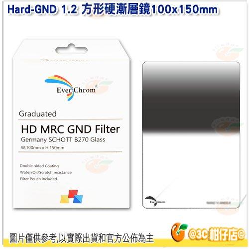 內附磁鐵框 EverChrom Hard-GND 1.2 100×150mm 方形硬漸層鏡 公司貨