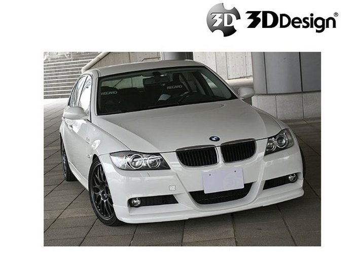 3DDesign 前 下巴 BMW 寶馬 3系列 E90 / E91 M-Sport 04-08 專用