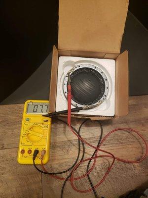 原裝TAD Exclusive TD-4001 4002 4003原廠4吋鈹膜線圈100mm也有含高音頭出售原廠預定需要10個月訂價美金2900