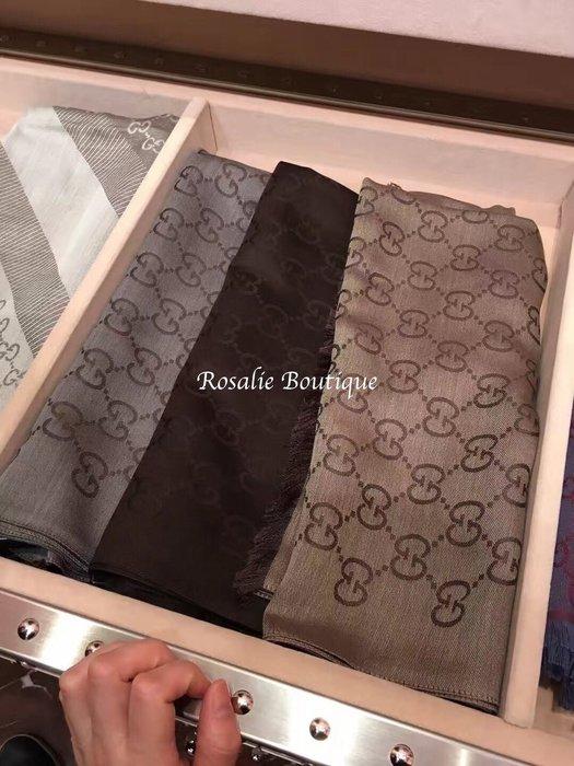 ❤羅莎莉歐美精品代購❤全新Gucci 圍巾(長條) - Outlet折扣款預購