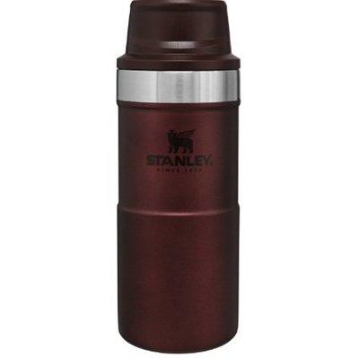 【STANLEY】10-06440 酒紅 TA 經典系列 350ML 單手保溫咖啡杯2.0 保溫水瓶保溫壺保溫保冰