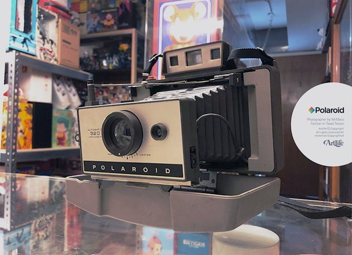 ArtLife @ Polaroid 320 LAND CAMERA Vintage 拍立得 老相機 蛇腹相機