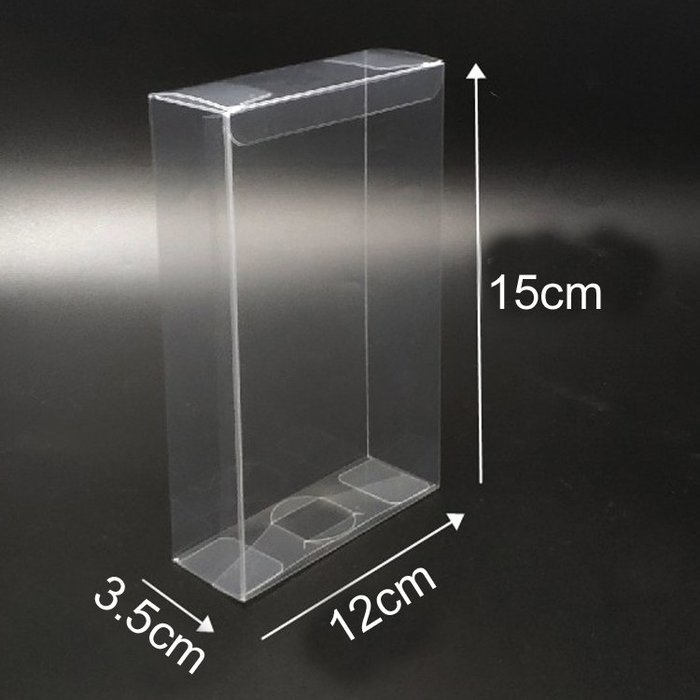 戀物星球 定制PET/PVC透明塑料包裝盒禮品盒禮物盒巧克力盒3.5*12*15cm