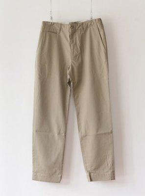 美國製 全新 Engineered Garments Workaday Khaki Twill 41 卡其錐形褲 S號