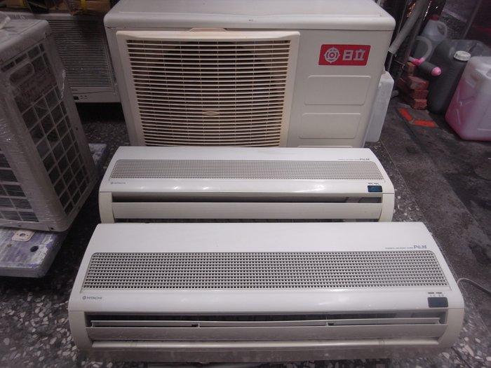 日立一對二分離示冷氣 冷房能力2000kca+2000kca 適用坪數4-5+4-5 附有搖控器
