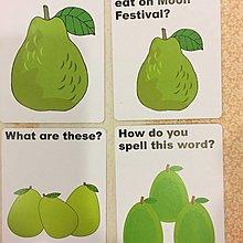 全新品·國小英文教學教材·節慶教學·moon festival 彩色圖卡·易懂易學·生動圖示幫助記憶·科任專任教室·印刷精美圖卡·尺寸:15*10公分·計16張