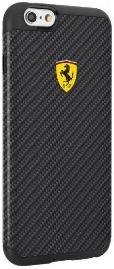 Ferrari碳纖維I Phone 6/6S Plus手機殼-限量一個最大優惠促銷~