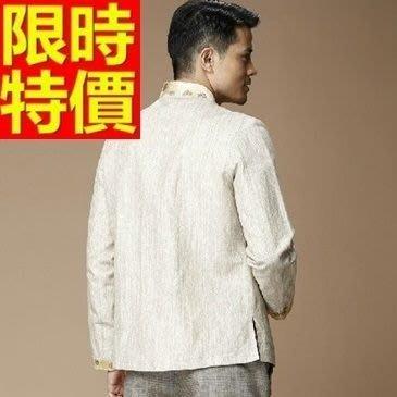 中山裝 唐裝 男外套-時尚中國風男西裝外套65e26[獨家進口][米蘭精品]