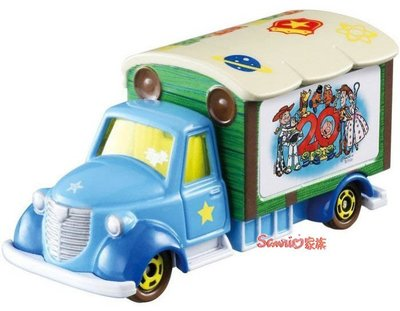 《東京家族》現貨日本TOMICA 多美小汽車 玩具總動員20周年 夢幻小車 TAKARA TOMY