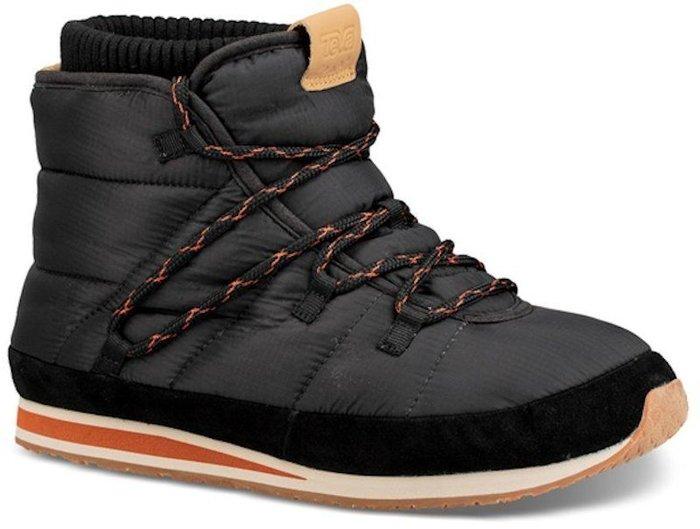 【艾咪】TEVA 女 Ember Lace 麵包中筒靴 雪靴 保暖靴 黑 只限一組