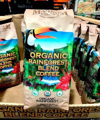 Costco好市多 MAGNUM 熱帶雨林有機咖啡豆 2磅/907g  organic rainforest coffee bean