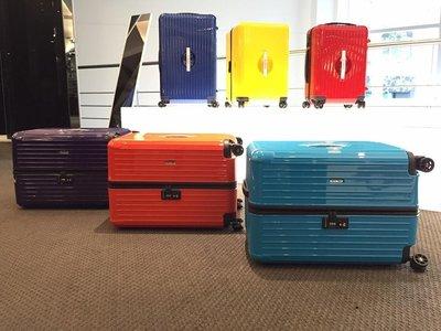 【遼寧236】金屬寶石藍【台灣公司貨】RIMOWA & Porsche 超輕型四輪行李箱 XL 「胖胖款」
