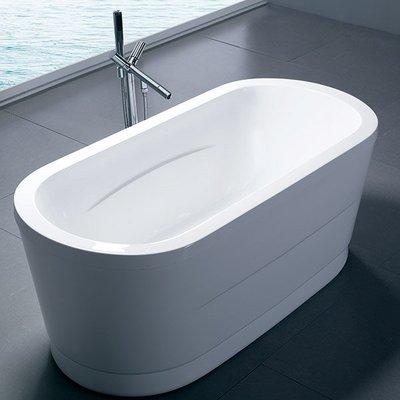《101衛浴精品》高分子高亮度壓克力 橢圓型 獨立浴缸 150CM 另有160CM【免運費搬上樓】