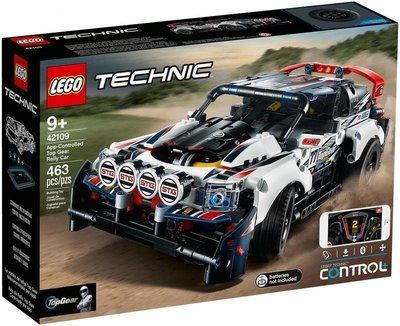 正版公司貨 LEGO 樂高 科技系列 LEGO 42109 遙控 Top Gear 拉力賽車