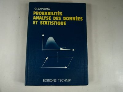 【考試院二手書】《Probabilites Analyse Des Donnees Et Statistique》│Technip-Paris│八成新(31F25)