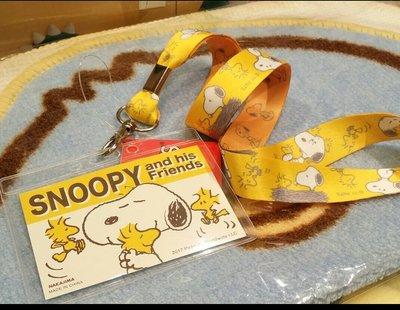 100% 原裝日本 peanut snoopy woodstock  電話繩 頸繩 連 卡套 CardCase 八達通套