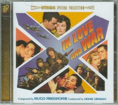 """In Love and War/Woman Obsessed""- Hugo Friedhofer(03),全新美版"