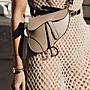 Dior 腰包 限定款 皮質配腰帶 裸膚 現貨...