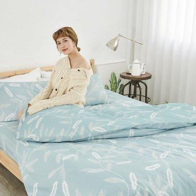 [SN]#U111#舒柔超細纖維5x6.2尺標準雙人床包被套四件組-台灣製