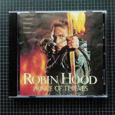 ※藏樂小舖※ (影劇CD) Robin Hood俠盜羅賓漢王子~電影原聲帶/凱文科斯納 (德壓銀圈版)