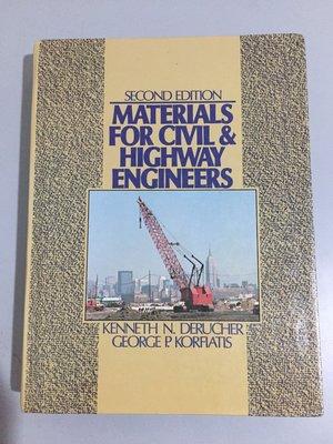 F2-7《好書321KB》Materials for Civil & Highway Engineers/2版/大專用書