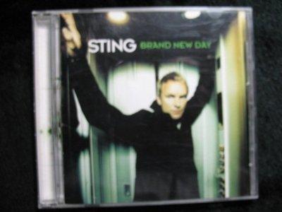 STING 史汀 - Brand New Day 嶄新的一天 - 1999年版 碟片如新 - 81元起標  R610