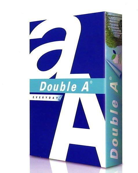 【全新含稅附發票,2包入】 Double A 多功能影印紙/A4/70gsm/高白/500張入(二包) 印表紙 列印紙
