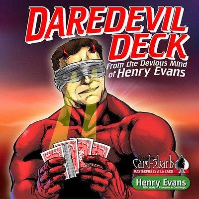 [魔術魂道具Shop]明目記號牌~Daredevil Deck  by Henry Evans