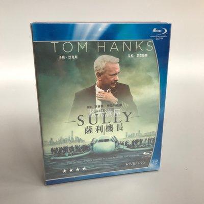 薩利機長 Sully 藍光BD高清湯姆漢克斯電影碟片