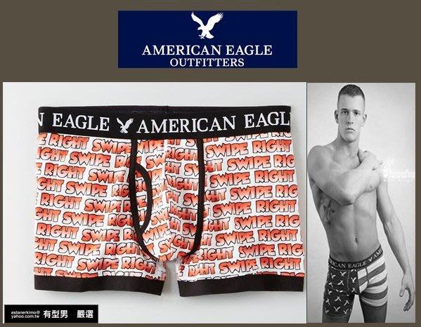 有型男~ AE American Eagle VS CK內褲 Underwear 滿版文字XL  XS S M L貝克漢
