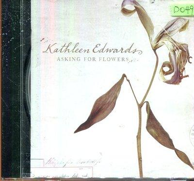 *還有唱片四館* KATHLEEN EDWARDS / ASKING FOR FLOWER 二手 D0490(封面底破)