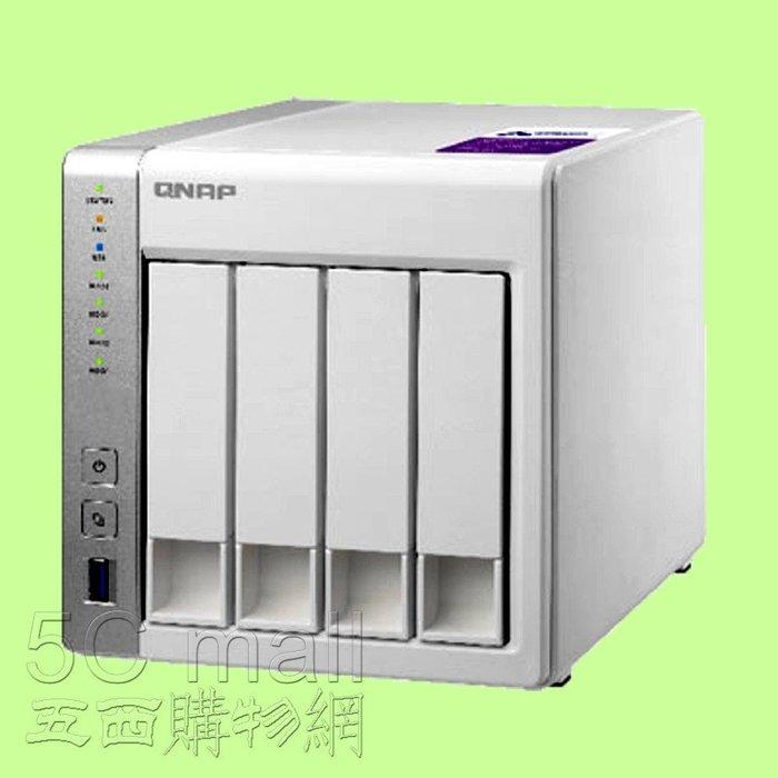 5Cgo【權宇】QNAP TS-431P+3TB SATA*4顆 QTS 4.0 AL-212雙核心網路儲存伺服器 含稅