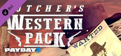 STEAM PAYDAY 2 : The Butcher's Western Pack DLC 劫薪日2 : 西部槍手包