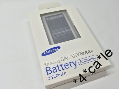 原裝 三星 Samsung Galaxy Note 4 /N9100 Battery 3220mah Battery電池
