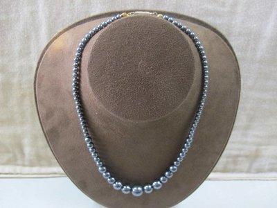 二手舖 NO.3708 磁石項鍊+手鍊 手珠 串珠 首飾飾品