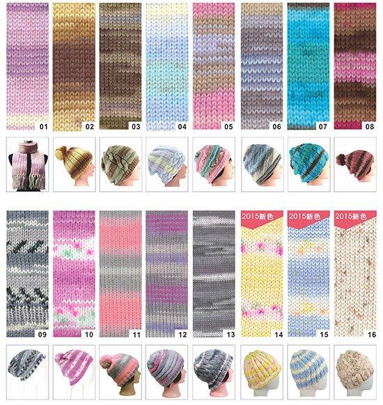 毛線編織SOFT FEATHER S129 段染貝殼毛線 ~帽子、圍巾、手工藝材料、編織工具、 進口毛線☆彩暄手工坊☆