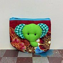 民族特色大象散紙包零錢包銀包小袋子雜物收納包
