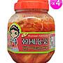 正宗韓國泡菜 1000g 4瓶組