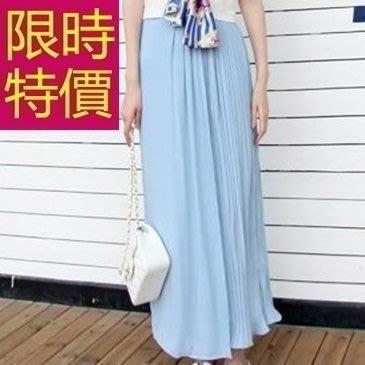 寬管褲-俏麗高雅流行女長褲61f50[韓國進口][米蘭精品]