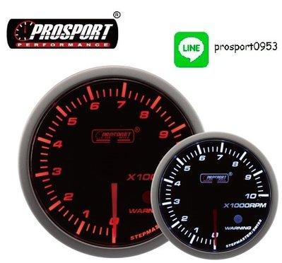 PROSPORT   60mm 白/琥珀 OBD2  OBDII 水溫錶電壓錶轉速錶 AUTOGAUGE DRACING