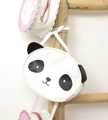 【現貨】QB 選物|荷蘭|a Little Lovely Company ❤ 酷黑熊貓小童側背包