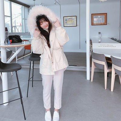 【ZEU'S】保暖大毛領慵懶內刷毛外套『 02220903 』【現+預】AB