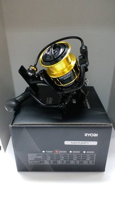 ❖天磯釣具❖ 6000型 免運費 日本RYOBI MATURITY 高培林數 紡車式 捲線器 (另有其它規格)