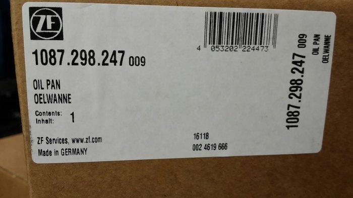 BMW ZF 8HP45 變速箱油底殼含螺絲 F20/F21/F25 F10/F11 F01/F02 F30