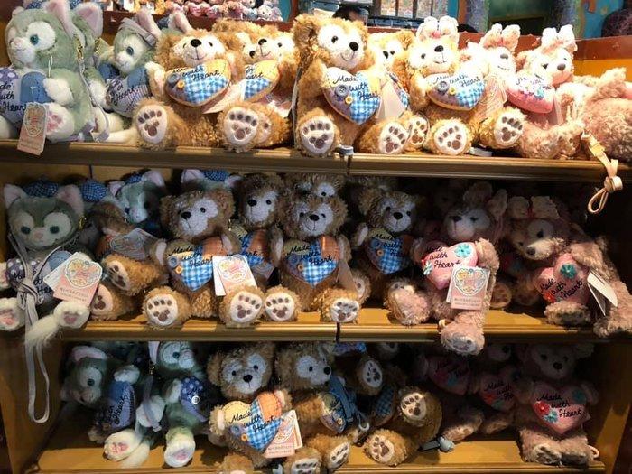 日本 海洋迪士尼 暖心 情人節系列 雪莉梅 斜背/側背 掛包
