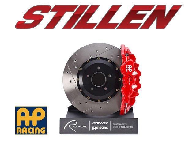美國 STILLEN AP Racing 後 四活塞 卡鉗 劃線 打洞 BMW M3 E92 08-13 專用
