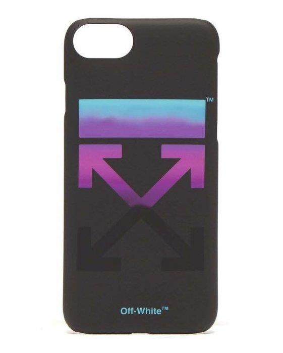 [ 羅崴森林 ] 現貨OFF-WHITE FW18 Gradient arrow logo漸層箭頭iPhone 8手機殼