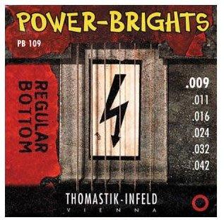 Thomastik Infeld奧地利手工電吉他弦 (Power Brights PB系列: PB109