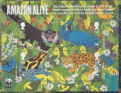 2011年英國WWF郵票和小全張套冊
