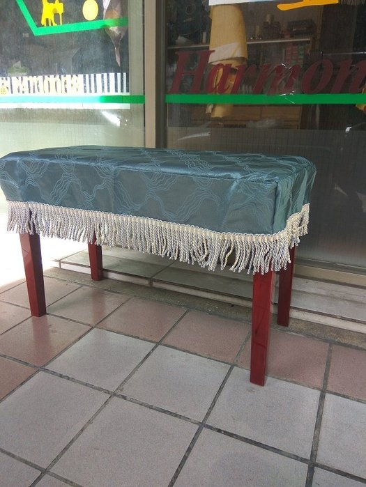 BC14∮有琴有藝@台中~全新高雅鋼琴椅套 椅罩連彈椅 椅罩 鋼琴椅套